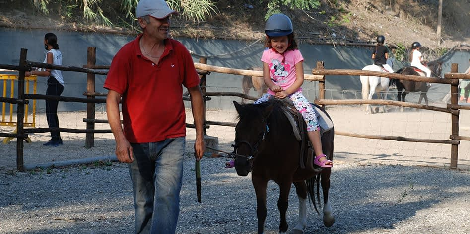 Centri estivi bambini roma equitazione