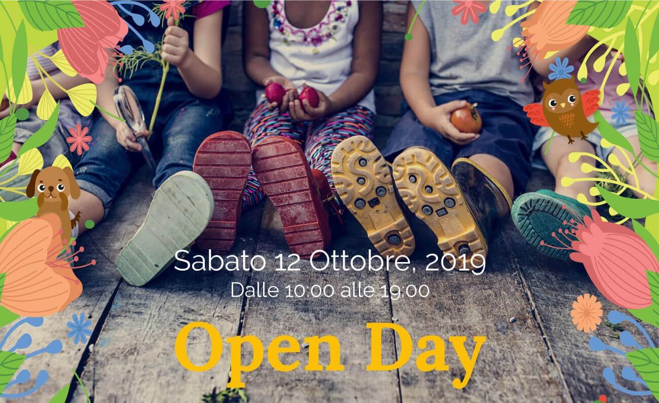 open day 12 ottobre