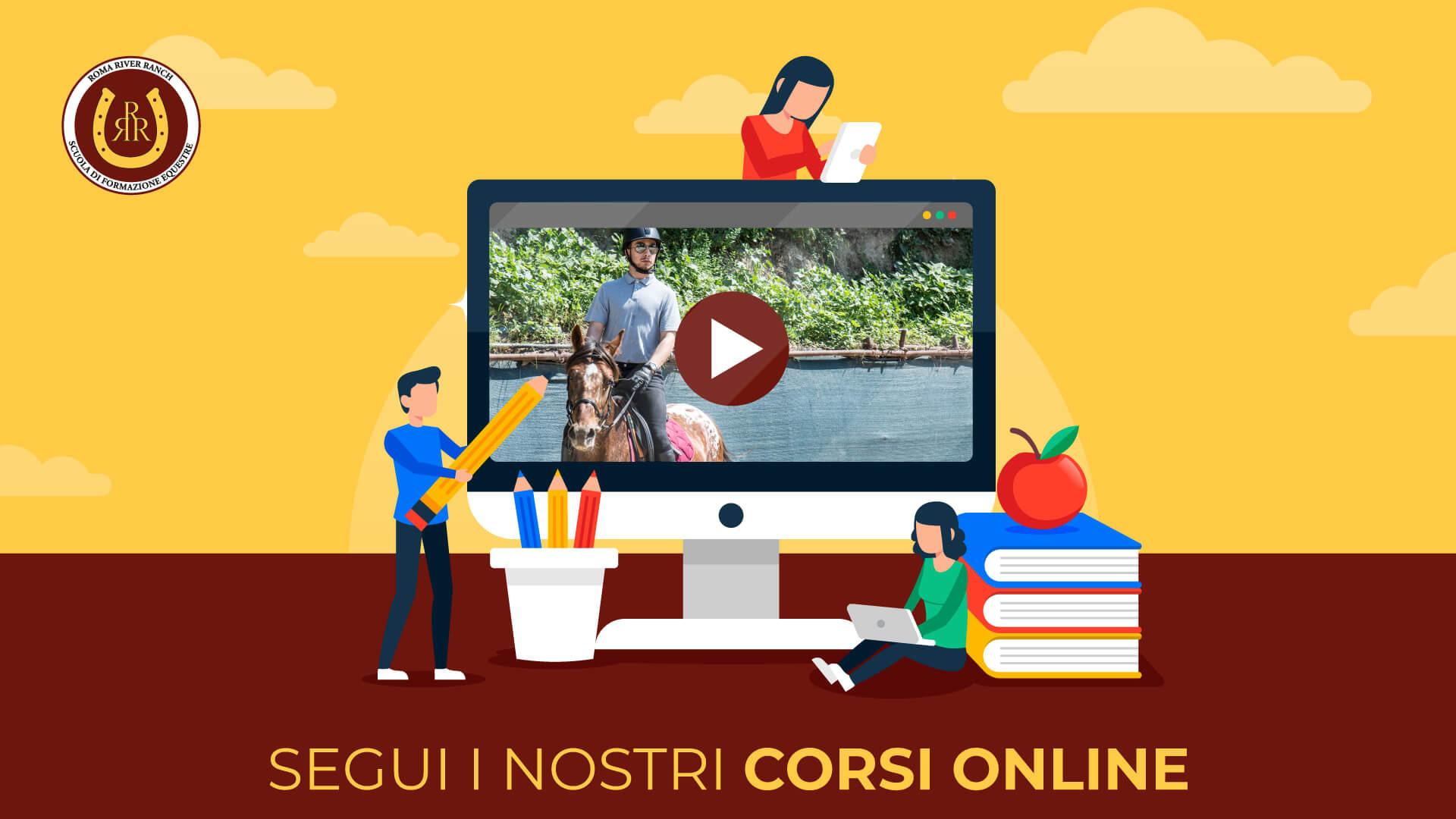 A lezione con il Roma River Ranch (ciclo di webinar)